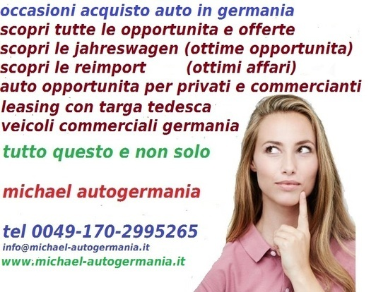 COME COMPRARE AUTO IN GERMANIA