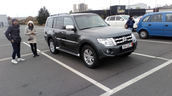 MITSUBISHI PAJERO IN VENDITA IN GERMANIA