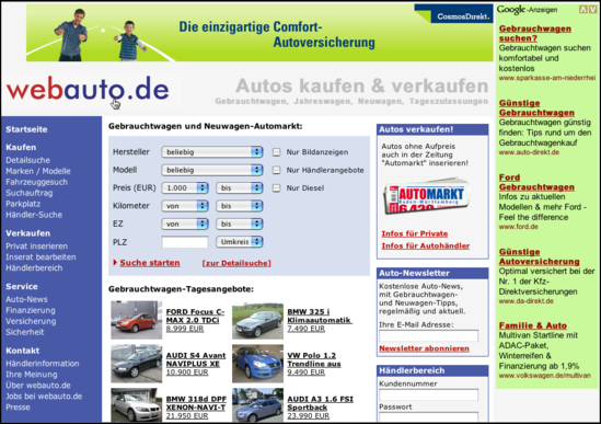low priced 501b5 4242e SITI WEB PER COMPRARE AUTO IN GERMANIA - RISPARMIA COMPRANDO ...