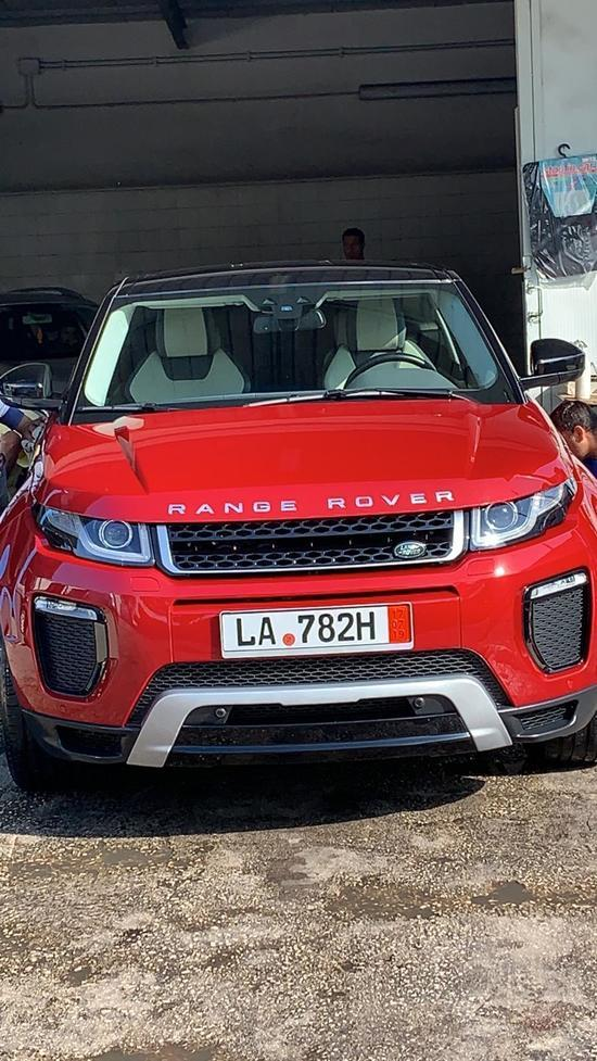 LAND ROVER RANGE ROVER ACQUISTO GERMANIA