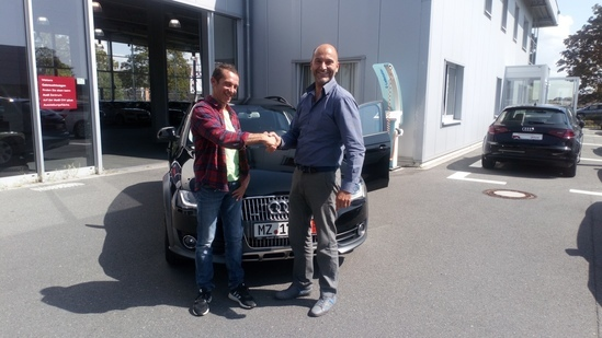 A4 ALLROAD ACQUISTATA IN GERMANIA