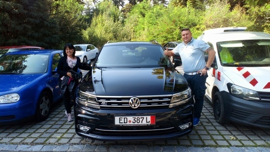 VOLKSWAGEN TOURAN DA COMPRARE IN GERMANIA