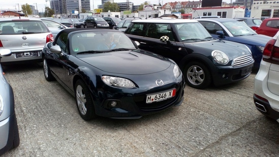 MAZDA MX-5 DA COMPRARE IN GERMANIA
