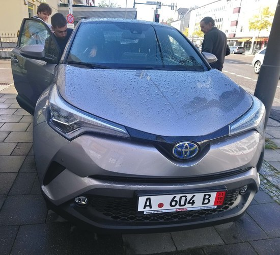 TOYOTA C-HR DA COMPRARE IN GERMANIA